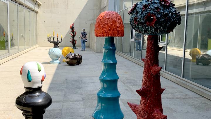 Hans van Bentem – Beelden op de patio